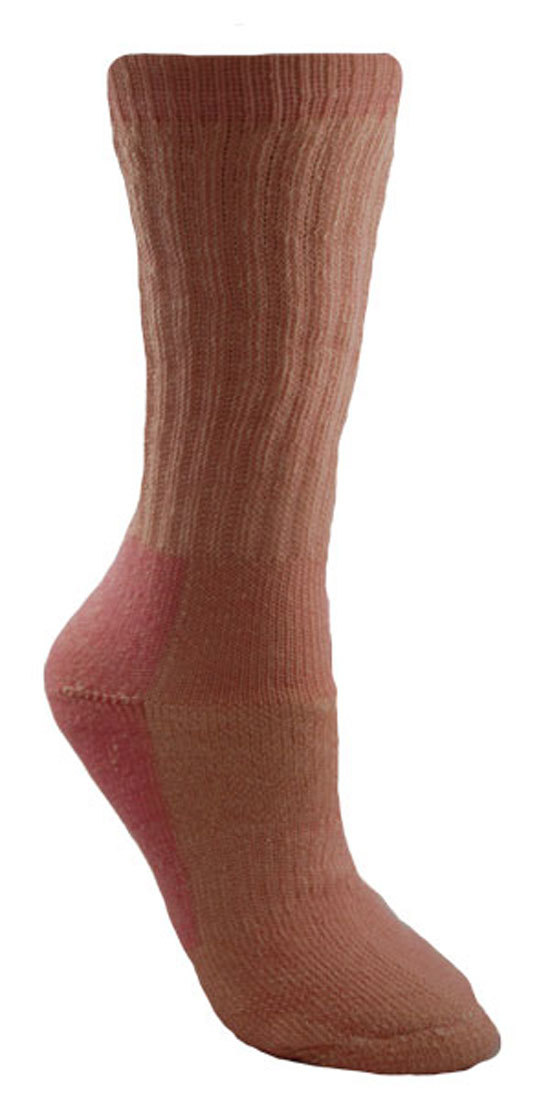 Womens Merino Wool American Made Crew Hiking Socks - 3 Pairs