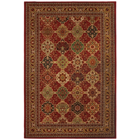 Mohawk Decorator's Choice Sir Charles red Area Rug - American Made
