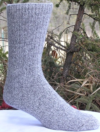 'The Classic' Wool Angora Socks - American Made