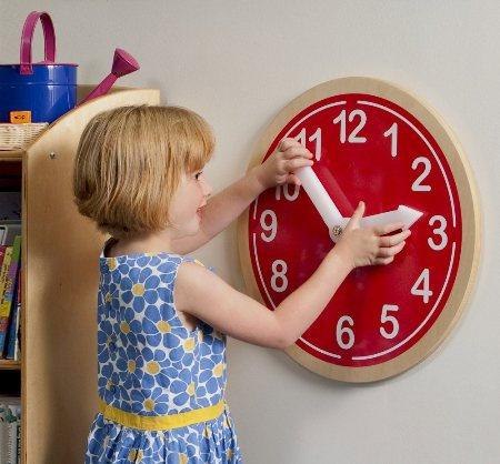 What Time Is It?  Wall Clock Made in America