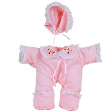 American Made Baby Girl Stuffed Toy