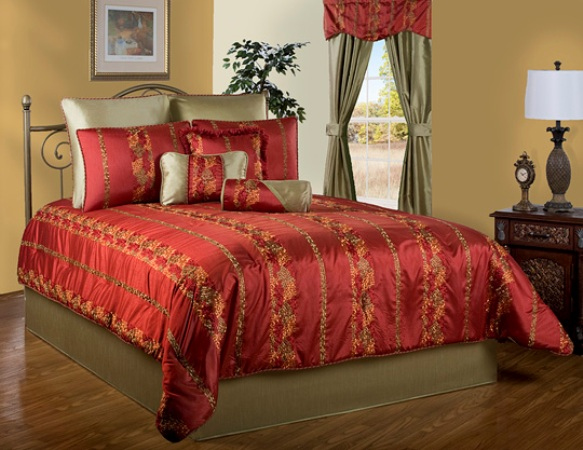 Victor Mills Zurich Comforter Set Made in America
