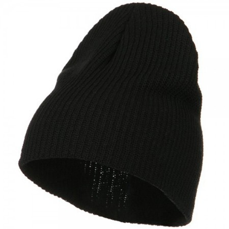 Eco Cotton Ribbed Big Classic Beanie Made in USA