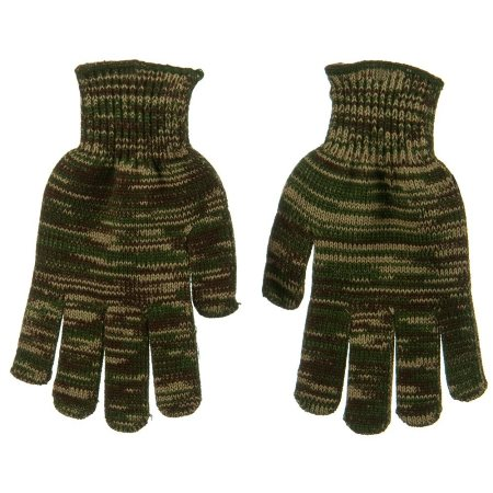 Acrylic Knit Rubber Gloves Made in USA