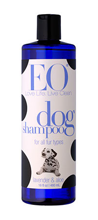 All Natural Dog Shampoo Made in USA - Lavender - 16 oz