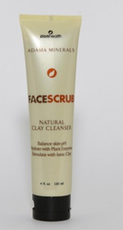 Natural Clay Face Scrub Made in USA