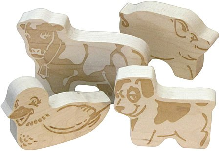 Schoolhouse Naturals Farm Animals Made in USA