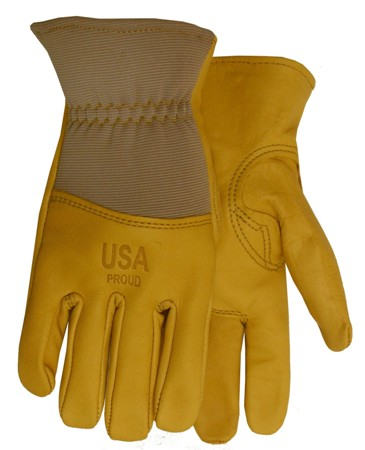 Quality Gloves Cowhide Leather Palm Glove Made in America