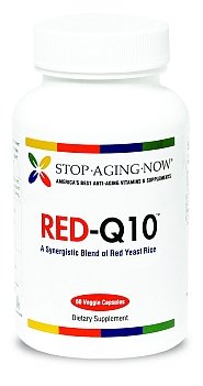 RED-Q10� Red Yeast Rice with CoQ10 Supplement Made in USA