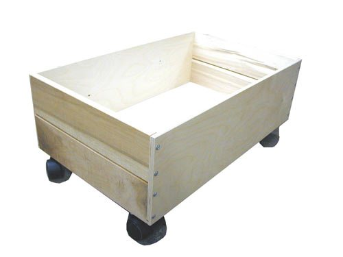 Beka Trundle (fits under Train/Play Table) - Made in America