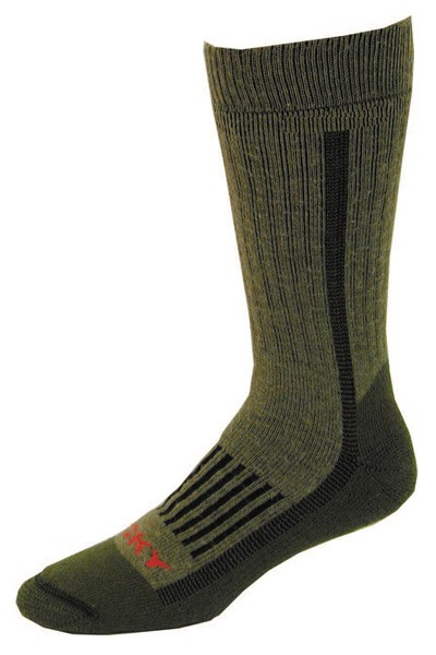 Heavy Weight Wool Cushion Crew Sock Made in USA
