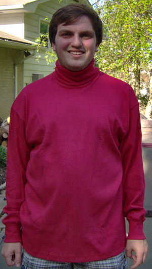 Long Sleeve American Made Turtleneck
