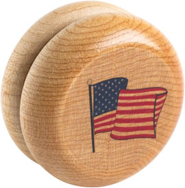 Maplelandmark American Made Yo-yo - Flag