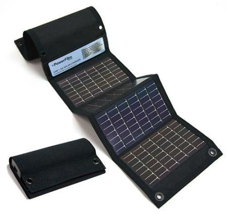 PowerFilm USB and AA Solar Charger American Made