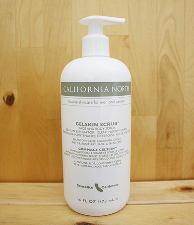 Mens California North Gelskin Scrub 16 oz. Pump Bottle American Made