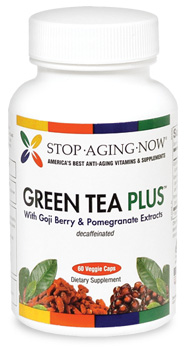 Green Tea PLUS� with Goji and Pomegranate Made in USA
