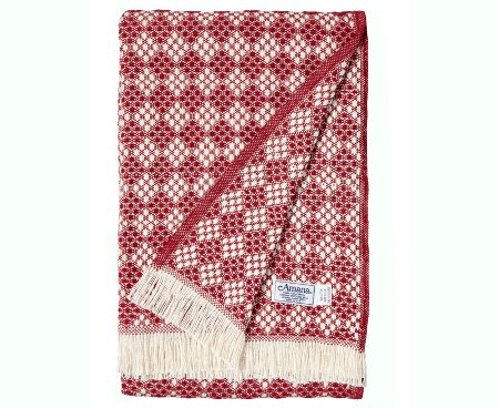 Cotton Throw American Made Blanket - Diamonds
