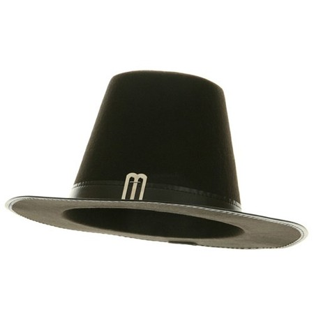 Permafelt Pilgrim Hat American Made - Black