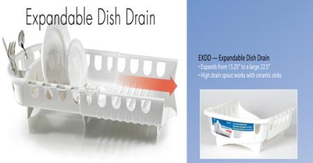 Expandable Sink Dish Rack American made