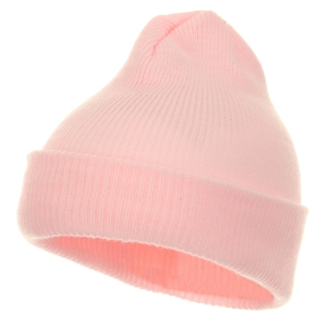 Toddler Knit Cuff Beanie - Light Pink