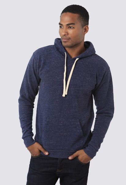 Unisex Triblend Fleece Pullover Hoody Made in USA