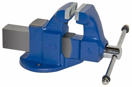 Heavy Duty Industrial Machinists' Bench Vise Made in USA - Stationary Base