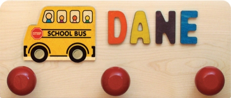 American Made Wall Rack - School Bus 6 Ltr