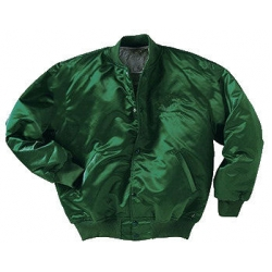 Satin Baseball Jacket American Made