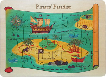 American Made Puzzle - Pirates Paradise