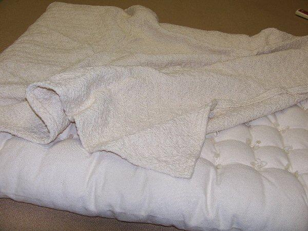 Organic Cotton Baby Blanket Made in USA