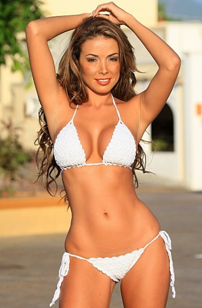 White Crochet Bikini - Made in USA