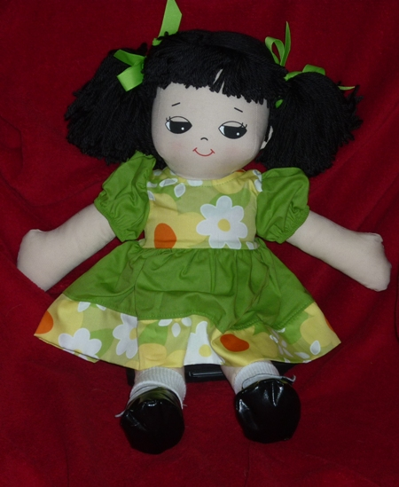 Wei Adorable Kinders Rag Doll Made in America by Granza