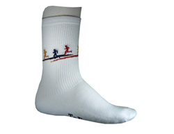 Cloud 9 Crew Socks Made in USA - 3  Pairs