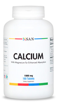 Calcium with Magnesium - Tablets Made in USA