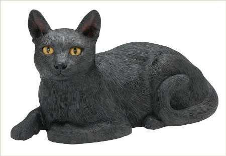 Short Hair Cat Urn / Sculpture American made