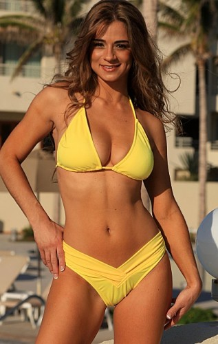 New Bahama Bikini in Yellow - Made in America
