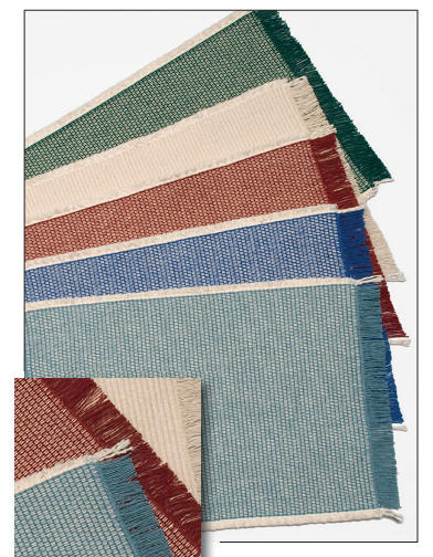 Mountain Weavers Country Weave Placemats - Made in America