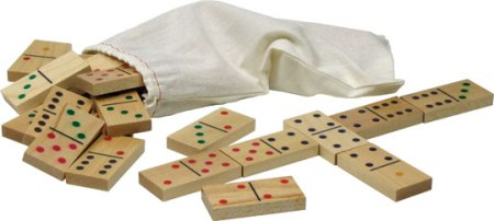 Standard Dominoes Made in USA