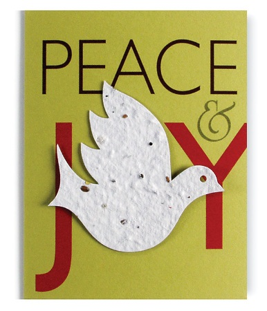 6 Pack of Handmade Holiday Cards by Bloomin Cards American Made