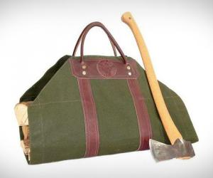 Log Carrier American Made by Duluth Pack