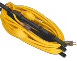 Multi-Tap Extension Cord Made in USA by Saf-T-Lite
