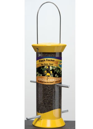 "The New Generation 8"" Finch Flocker Feeder Made in USA"