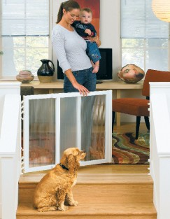 Clear Choice Stairway Baby/Pet Gate Made in USA
