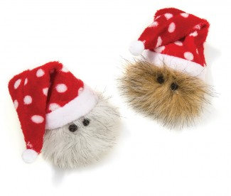 Ho-Ho Hairball American Made Cat Toy