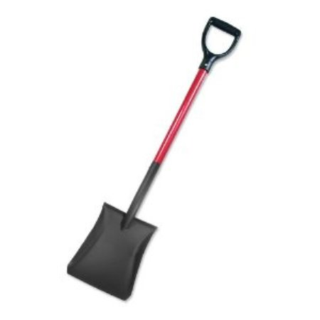 Bully Tools 82520  Heavy Duty Commercial Grade C-Model D-Grip Square Point Shovel Made in America