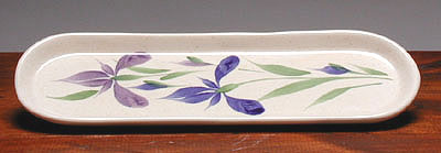 Ceramic Spoon Rest American Made - Iris