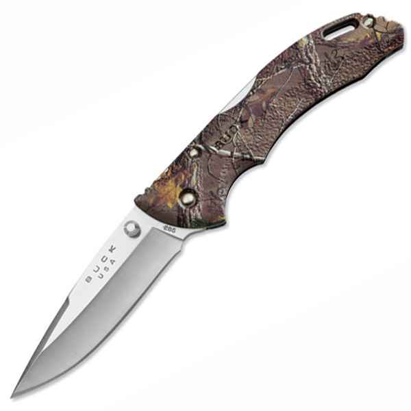 Buck Bantam, Realtree Xtra Camo Handle, Plain