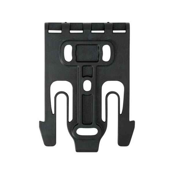 Safariland 6004 QLS 19 MOLLE Duty Holster Locking Fork, Black