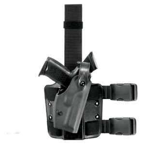 Safariland 6004 SLS Tactical Holster, RH, STX Black, FN 5-7