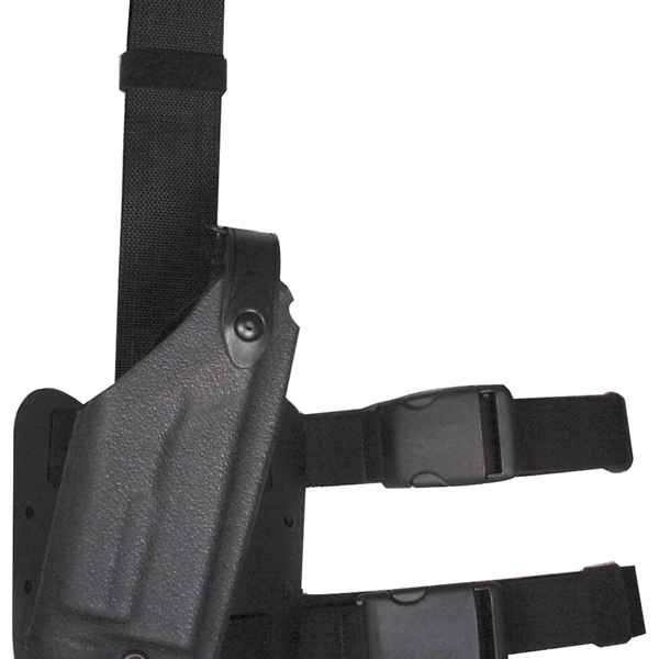 Safariland 6004 SLS Holster w/Light, RH, Black STX Tactical,Glock 17/19